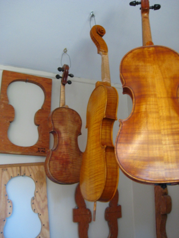 Howard Sands Violins, Custom Violins