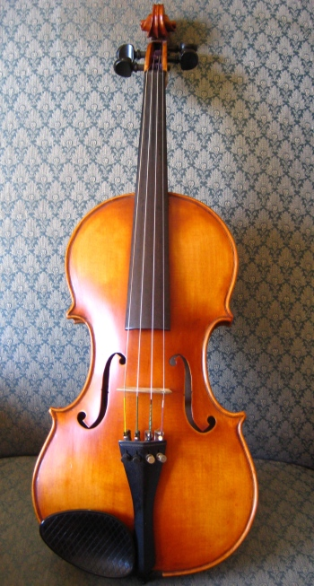 Custom Violin, Howard Sands Violin, violinmaker, USA violin